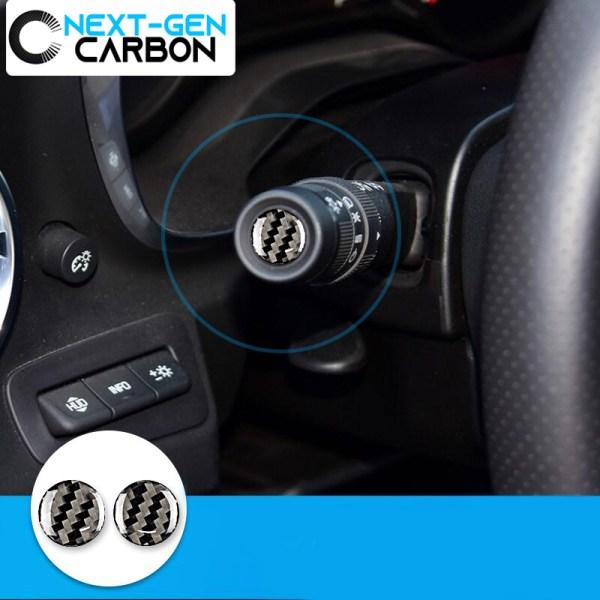 Carbon Fiber Wiper/Signal Switch Covers | 2016-2021 Camaro