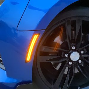 Smoked Dual LED Side Markers | 2016-2021 Chevy Camaro