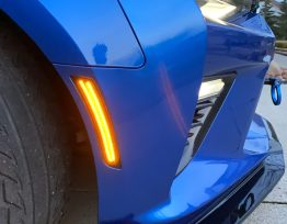Next-Gen Smoked Dual LED Side Markers | 2016-2020 Chevy Camaro