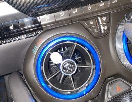 Carbon Fiber Vent Knob Covers | 2016-2020 Camaro