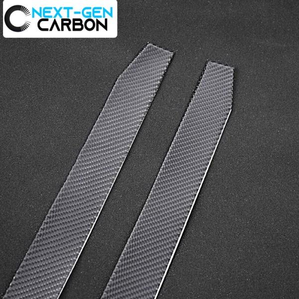 Real Carbon Fiber Door Sill Covers | 2016-2020 Camaro
