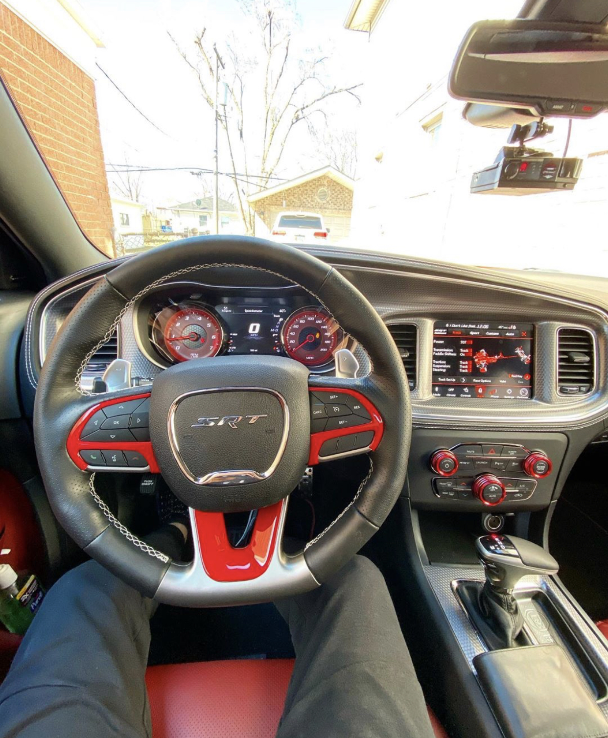 2015-2016 Dodge Challenger SRT SRT8 OEM Heater Climate Vehicle Radio Controls