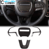 Carbon Fiber Steering Wheel Cover Kit | 2015-2020 Dodge Challenger/Charger