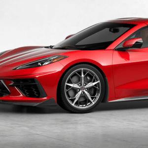 C7Carbon 5VM Style Front Splitter (Carbon Flash Metallic) | 2020+ Chevy C8 Corvette