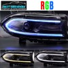 Color Changing RGB LED Headlights | 2015-2021 Dodge Charger