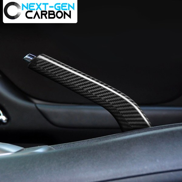 Carbon Fiber Emergency Brake Handle Cover | 2010-2015 Chevy Camaro