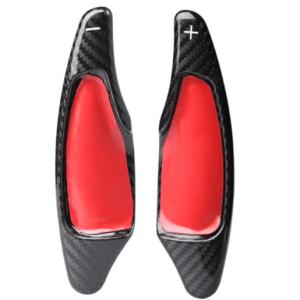 Carbon Fiber Paddle Shifter Cover Extensions | 2014-2019 Corvette C7