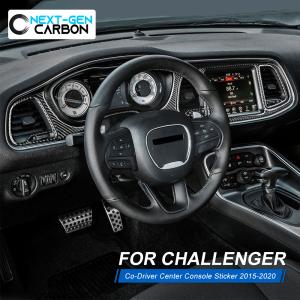 Carbon Fiber Dashboard Insert Overlay | 2015-2021 Dodge Challenger