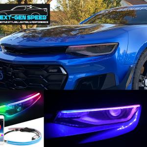 Multicolor Headlight LED Strips | Any Vehicle