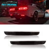 Smoked LED Rear Reflectors | 2015-2021 Dodge Challenger