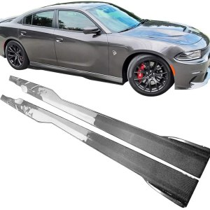 Ikon SRT Side Skirts – Carbon Fiber | 2015-2021 Dodge Charger SRT