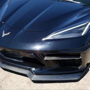Carbon Fiber 5VM Style Front Splitter Lip  | 2020+ C8 Corvette – C7Carbon