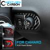 Carbon Fiber HUD Switch Trim | 2010-2015 Chevy Camaro