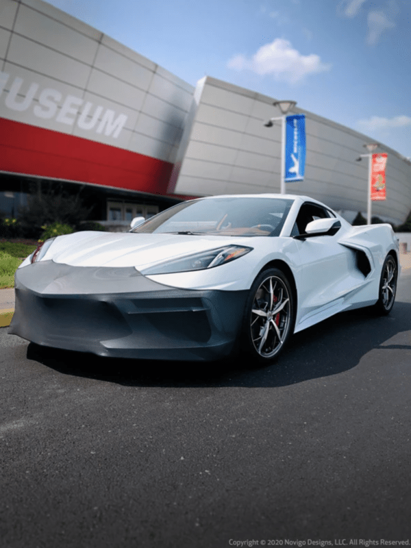 NoviStretch® Front Bumper Mask | 2020+ C8 Corvette