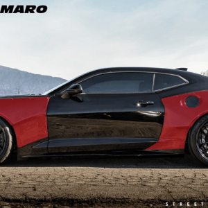 4-Piece Wide Body Kit – Streetfighter LA   2016-2018 Chevy Camaro LT/RS/SS