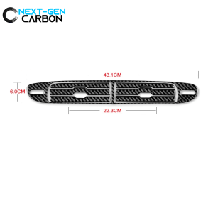 Carbon Fiber Center Vent Overlay | 2013-2015 Chevy Camaro