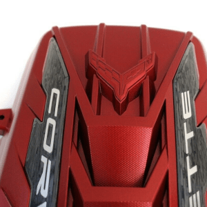 LT2 Red Engine Cover | 2020+ Chevy Corvette C8 (GM 12697368)