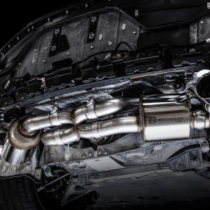 AWE Touring Edition Exhaust System | 2020+ Chevy Corvette C8 – (Chrome Silver/Diamond Black Tips)