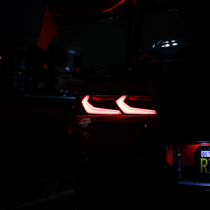 Umbra LED Smoked Dark Sequential Tail Lights | 2014-2015 Camaro – C8 Style