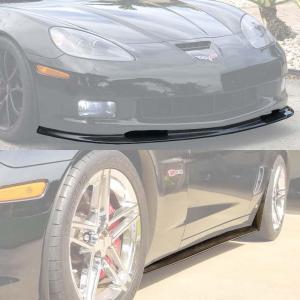 Front Splitter Lip & Side Skirts Rocker Panels | 2005-2013 Corvette C6 Grand Sport / Z06