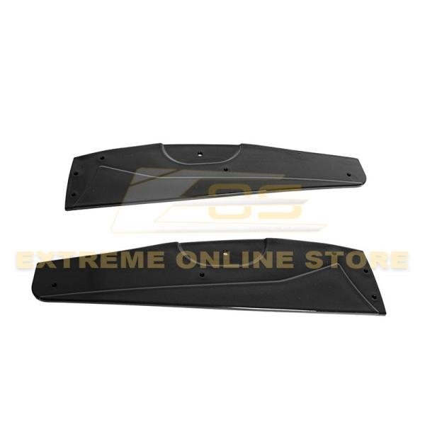 Side Skirts Rocker Panels ZR1 Conversion Package | 2005-13 Corvette C6 Base Model