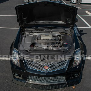 Carbon Fiber Front Engine Cover | 2009-15 Cadillac CTS-V
