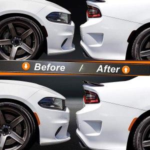 Precut Side Marker Tint   2015 – 2021 Dodge Charger