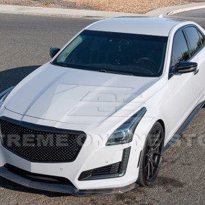 Carbon Fiber Front Splitter & Side Skirts | Cadillac CTS 2014-2019