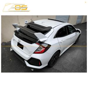 Type R Conversion Rear Trunk Spoiler Kit | 2016+ Honda Civic Hatchback