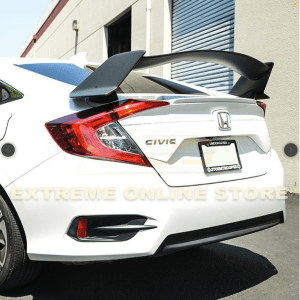 Type R Conversion Rear Trunk Spoiler Kit | 2016+ Honda Civic Sedan