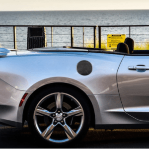 Carbon Fiber Fuel Door Cover | 2016-2021 Camaro
