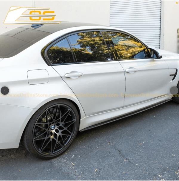 Extended Carbon Fiber Side Skirts Rocker Panels | 2014-18 BMW F80 M3