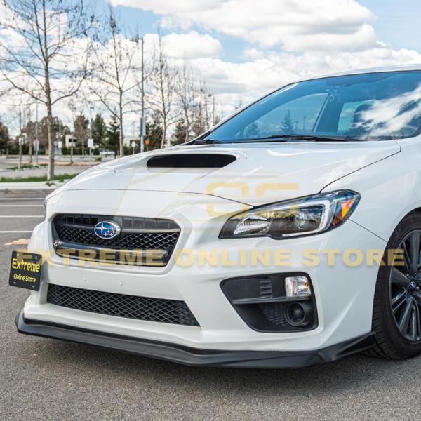 VRS Style Front Splitter Lip Ground Effect | 2015-17 Subaru WRX / STI