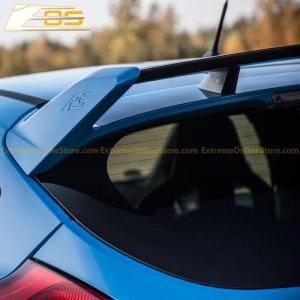 Primer Black/Carbon Fiber Rear Trunk Spoiler | 13-Up Ford Focus SE | ST | RS