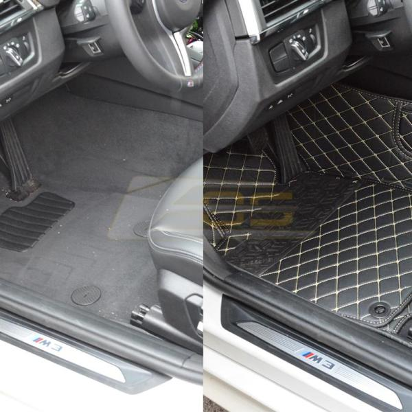 Artificial Leather Waterproof Floor Mat | 2012-19 BMW 3-Series