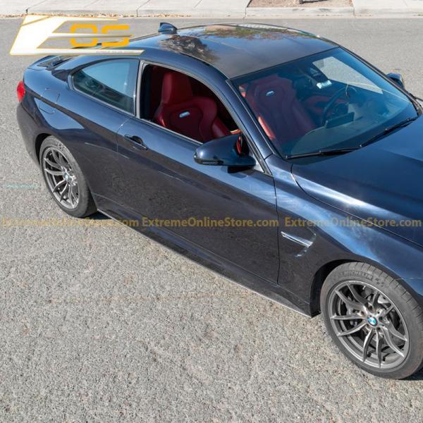 Carbon Fiber Front Splitter & Side Skirts | 15-20 BMW F82 M4