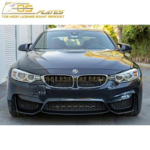 Tow Hook License Plate Mount Bracket | 2015-18 BMW M4 F82 F83