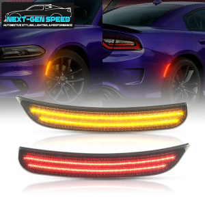 Smoked Dual LED Side Markers | 2015 – 2021 Dodge Charger