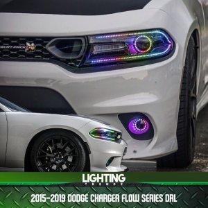 Flow Series DRL | 2015+ Dodge Charger – Lighting Trendz