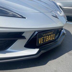 License Plate Holder | 2020+ Chevy Corvette C8 – ZL1Addons
