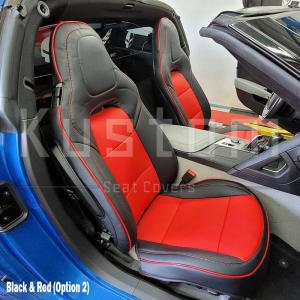 Two-Tone Leather Seat Covers | 2014-19 C7 Corvette