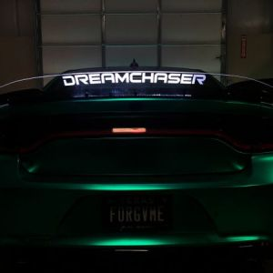 RGB Illuminated Wicker Bill | 2015-2021 Dodge Charger – Fasty's Garage