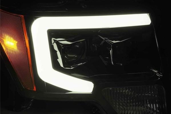 Alpharex Luxx LED Headlights   2009 – 2014 Ford F-150