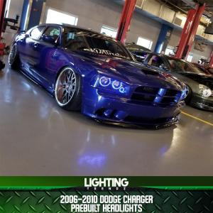 Pre-Built Headlights | 2006-2010 Dodge Charger – Lighting Trendz