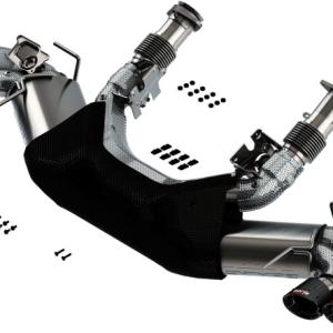 Corvette C8 Borla S-Type Cat-Back Exhaust Carbon Fiber Tips | 2020 – 2021 Chevy Corvette C8 Stingray