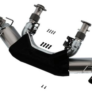 Borla ATAK Cat-Back Exhaust (140839CF) | 2020-2021 Chevy Corvette C8 Stingray