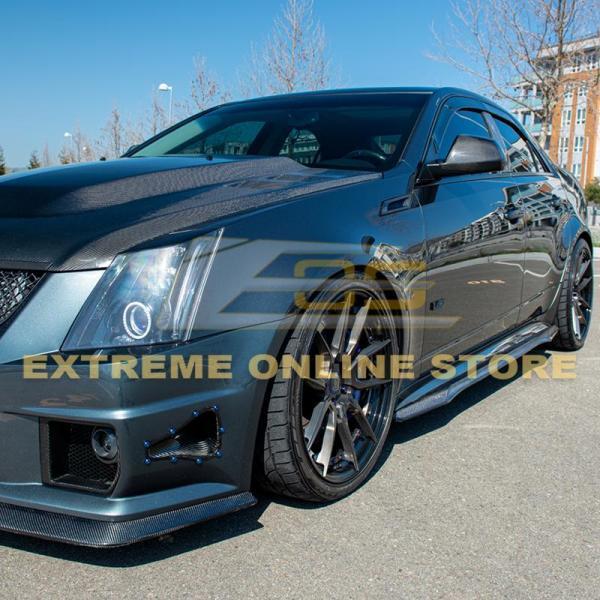 CTS-V Carbon Fiber Side Skirts | 2009 – 2015 Cadillac CTS-V