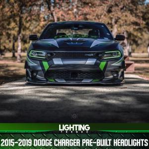 Pre-Built Headlights | 2015+ Dodge Charger – Lighting Trendz
