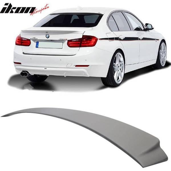 Unpainted Roof Spoiler   2012-18 BMW F30 Sedan