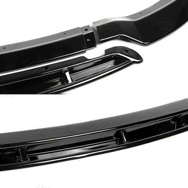 SRT Track Package v2 Splitter Lip – Gloss Black | 2015 – 2021 Dodge Charger